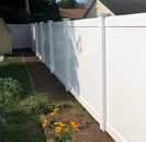 White fence demo.